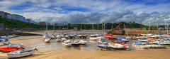 Tenby Harbour, Wales, UK (Jeffpmcdonald) Tags: tenby dinbychypysgod boats wales uk harbour pembrokeshire nikond7000 jeffpmcdonald aug2016