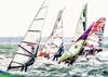 Board Crazy (DeanoNC) Tags: haylingisland windsurfers gx7