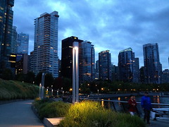 Light Upon the Path (FernShade) Tags: vancouver coalharbour coalharbourquay eveninglights cityscape citylights