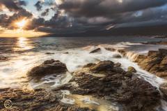 """Golden rocks"" (Sicilian1976) Tags: crete greece griekenland chersonissos goldenhour rocks seascape sea water canon6d canon1740 nisi sunset sunrise sun zonsopkomst zon zonsondergang longexposure strand beach"