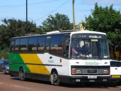 Badgerline: 2098 (PWS492S) - 29-08-16 (peter_b2008) Tags: badgerline leyland leopard plaxton paramount 2098 pws492s preserved buses coaches transport buspictures
