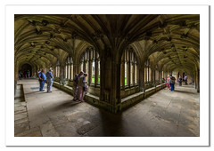 Cloisters at Lacock Abbey (Travels with a dog and a Camera :)) Tags: september lightroom cc lacock abbey sigma 1020mm 1456 dc england cloisters digital justpentax pentax k5 2016 art national trust south west uk photoshop 2015 lacockabbey lightroomcc nationaltrust pentaxart pentaxk5 photoshopcc2015 sigma1020mm1456dc southwest unitedkingdom gb