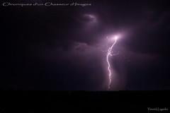 clair 2 (Chronique d'un chasseur d'images) Tags: clair foudre lightning flash orage tonnerre storm thunder thunderlight thunderstorm night nuit