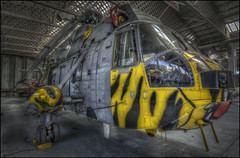 Duxford 11 (Sea King Helicopter) (Darwinsgift) Tags: helicopter duxford imperial war museum hdr photomatix nikkor 20mm f18 nikon d810 aircraft vintage