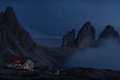 Dolomites night (Ralph Rozema) Tags: tre cime dolomites italy ralphrozemaphotography laveredo rifugiolocatelli dreizinnenhtte