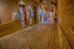D'Alt Vila (Porschista) Tags: eivissa ibiza balears calle carrer empedrat daltvila noche nit night
