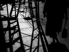DSCF6878 (Neil Johansson LRPS) Tags: fuji fujifilm x30 fujifilmx30 black white blackandwhite monochrome bw light dark shadows noir filmnoir cinematic urban urbanphotography urbanwales photo photograph photography landscape digital figure lines pavement llandudno conwy cymru northwales wales uk silhouette streetphotography