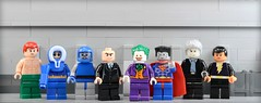 Lego: DC Justice League Villains (Bryant.) Tags: face video lego fig lol halo super games superman barf videogames clones batman heroes decal minifig minifigs superheroes waterslide custom lex luthor legovignette legohouse legospace legovehicle