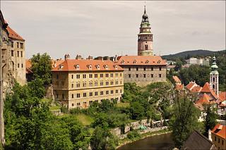 Part of Český Krumlov Castle