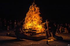 Bonfire (iPh4n70M) Tags: wood party night de fire nikon burning bonfire nikkor fte nuit joie feu bois 2470mm eaters cracheurs nohdr brulant d700
