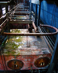 I was in awe of the colors and intricate details in here (Visual Melange Photography) Tags: abandoned industrial decay urbanexploration powerplant coal asylum derelict powerstation ue psychiatrichospital insaneasylum urbex abandonedhospital