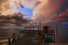 Bokeelia Sunset (tropicdiver) Tags: sunset gulfofmexico clouds thunderstorm pineisland bokeelia