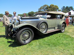 1923 Hispano-Suiza H6B Dual Windshield Touring, coachwork by Million-Guiet (DBerry2006) Tags: antiquecar concours concoursdelegance hispanosuisa 1920scars marinsonomaconcours