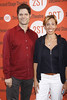 Tom Kitt and Amanda Green New York premiere of 'Dogfight' at the Second Stage Theatre - Arrivals. New York City, USA