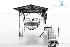 Boat Hanger (Kevin Vyse Photography) Tags: travel lake ontario canada art beach water boats dock personal north hanger 2012 turkeypoint longpoint portrowan boatdocks kvphotography kevinvyse