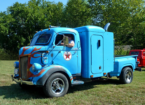 1941 Ford Cab Over Engine (COE) Sleeper Pickup
