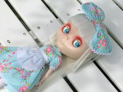 Mircalla Karnstein with hypnotic eyes (Helena / Funny Bunny) Tags: doll vampire blythe custom velvetminuet sbl blekinge countess reroot sölvesborg mircalla funnybunny mircallakarnstein fbfashion