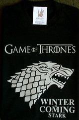 Remera Game of thrones Stark (Lady Krizia) Tags: winter game george tv martin tshirt stark hbo vinilo serie remera wilwarin remeras gameofthrones estampado thores termoestampado