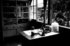 (清水微光) Tags: film fuji kodak iso400 taiwan s 1981 台灣 黑白 klasse ebc 38mm 林口 waterlight 底片 柯達 銀鹽 賽德克巴萊 一九八一 trix400film400tx 壹玖捌壹 霧社街 輕便機 135黑白負片 清水微光 漸涼