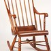 123. Paint Decorated Windsor Rocker