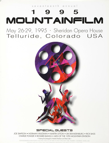 1995 Mountainfilm in Telluride Festival Poster
