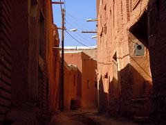 Abyaneh empty alleys (Germn Vogel) Tags: brick alley asia village iran traditional middleeast adobe abyaneh islamicrepublic westasia gettyimagesmiddleeast
