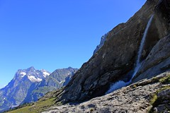 Waterfall on the way (Roleck) Tags: mountain alps switzerland waterfall eiger oberlandbernese