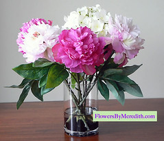 Flowers by Meredith - hydrangeas - peonies