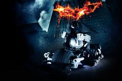 Batpod (7) (pitrek02) Tags: dark town lego space nolan batman knight catwoman selina moc lugpol
