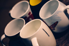 I have measured out my life with coffee mugs... (tatadbb) Tags: vienna wien arizona usa color coffee canon butterfly germany 50mm cafe cologne starbucks mug today taza posting 087 darktable tp270