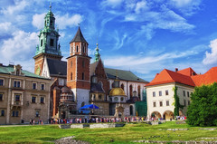 Poland Cracow Royal Castle Wawel August 2012 (Smo_Q -listened to Heaven by E.Sande again and aga) Tags: castle poland polska krakow polen chateau schloss krakw cracow polonia burg cracovia krakau zamek