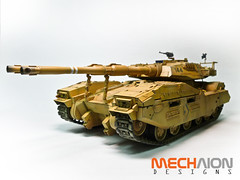 UCHG M61A5 Main Battle Tank Semovente Phantom Element (mechaion) Tags: modeling 135 gundam msigloo mechaiondesigns smovente