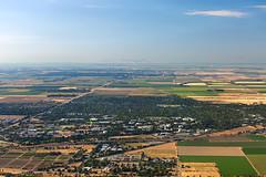 Davis, CA from the Air (Anthony Dunn Photography) Tags: california river delta sacramento