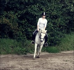 you was perfect. (juhlsofficial) Tags: b was missing perfect julia you riding pony welsh dressage racker