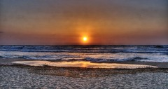 Tramonto  sulla spiaggia (socrates197577) Tags: sardegna beach nikon tramonto mare sole paesaggi spiaggia hdr paesaggio photomatix mygearandme