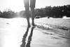 Memories {explored} (Samantha Stock) Tags: summer blackandwhite lake beach water monochrome boats 50mm waves sony feets bahaha nex5 ijusttypedfeets
