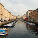 Trieste - Looking Up the Canal Grande