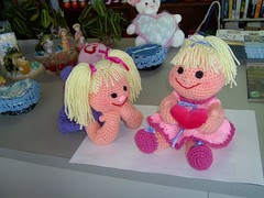 Crochet Dolls (Shelley's Crochet Olé) Tags: crochet crochetdolls shelleyscrochetole