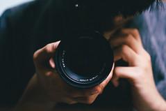 Old Lens New Camera! (Crusade.) Tags: leica macro film zeiss self bokeh m mount 50 75 makro ricoh a12 crusade planar gxr