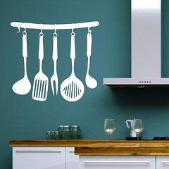Kitchen Wall Decals (Muriel Alvarez) Tags: kitchen wall stickers spoon walls decor decals homedecor kidsroom déco adhesives autocollants idéesdéco décorationmurale adhésifs