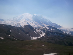 Rainier from Fremont Overlook trail
