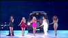 .The Spice Girls perform at the ' Olympic Closing Ceremony ' Shown on BBC1 HD England