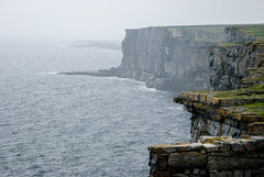 cliffs from dun aonghasa...inis mor...aran islands...ireland (laughlinc) Tags: ocean ireland vacation seascape cliffs aranislands inismor dunaonghasa lr4 nikond80 28300mmf3556 thechallengefactory laughlinc