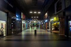 227/366 (DavidAndersson (away)) Tags: night mall shopping nordstan gteborg empty gothenburg stores deserted day227 366 femmanhuset sigma1850f3556 2012yip 3662012