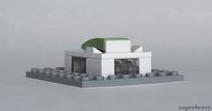Microscale Royal Festival Hall (caperberry.tj) Tags: building london festival architecture hall lego royal southbank royalfestivalhall rfh southbankcentre microscale