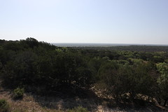 Looking East from the center of Texas
