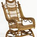 104. High Victorian Wicker Rocker