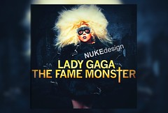 The Fame Monster (*Nuke*) Tags: monster lady cd fame cover gaga blend the