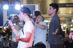 The Wanted (ellasportfolio) Tags: new york blue boy max john photography photo george airport concert all time you 5 five low jet band august terminal glad jfk f popular came siva kennedy 2012 kaneswaran