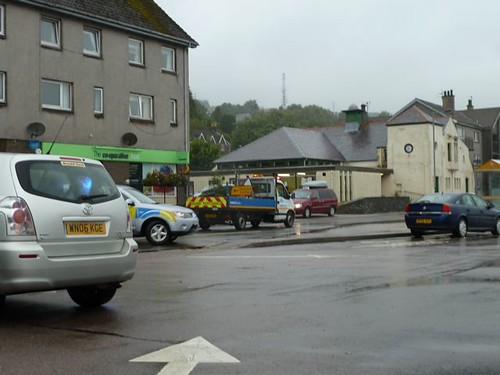Ardrishaig flooding 27 August 3